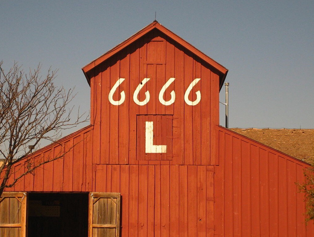 Four sixes barn